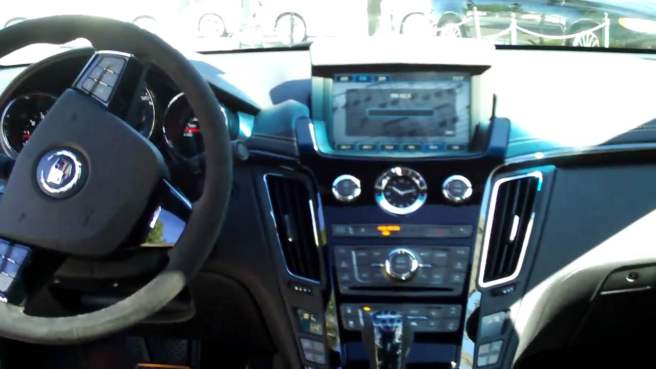 2011 cts v coupe interior youtube. Black Bedroom Furniture Sets. Home Design Ideas