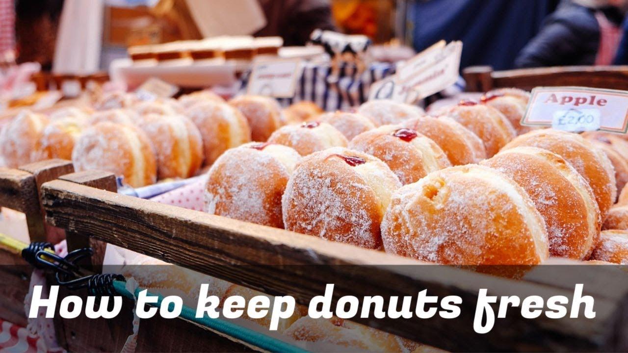 How to Keep Donuts Fresh How to Keep Donuts Fresh new foto