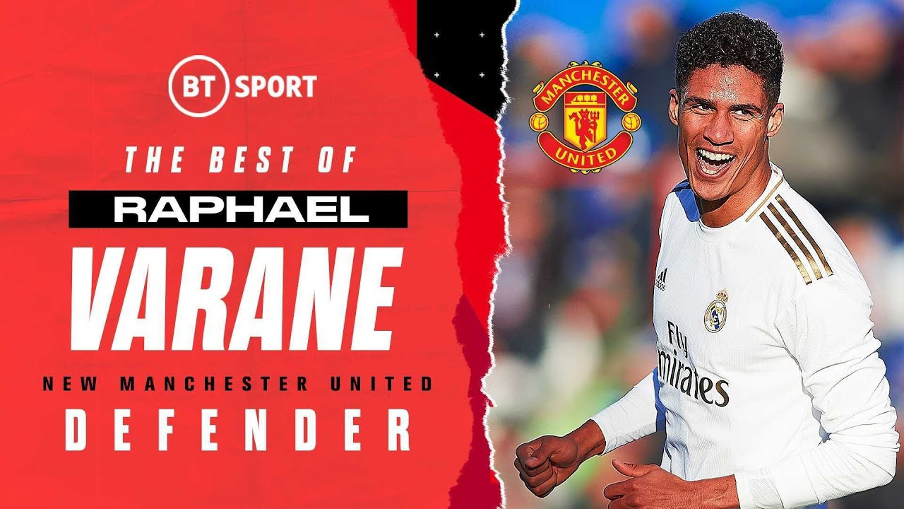 The best of Raphaël Varane for Real Madrid in the Champions League | Man Utd's new signing! 🔴⚫️