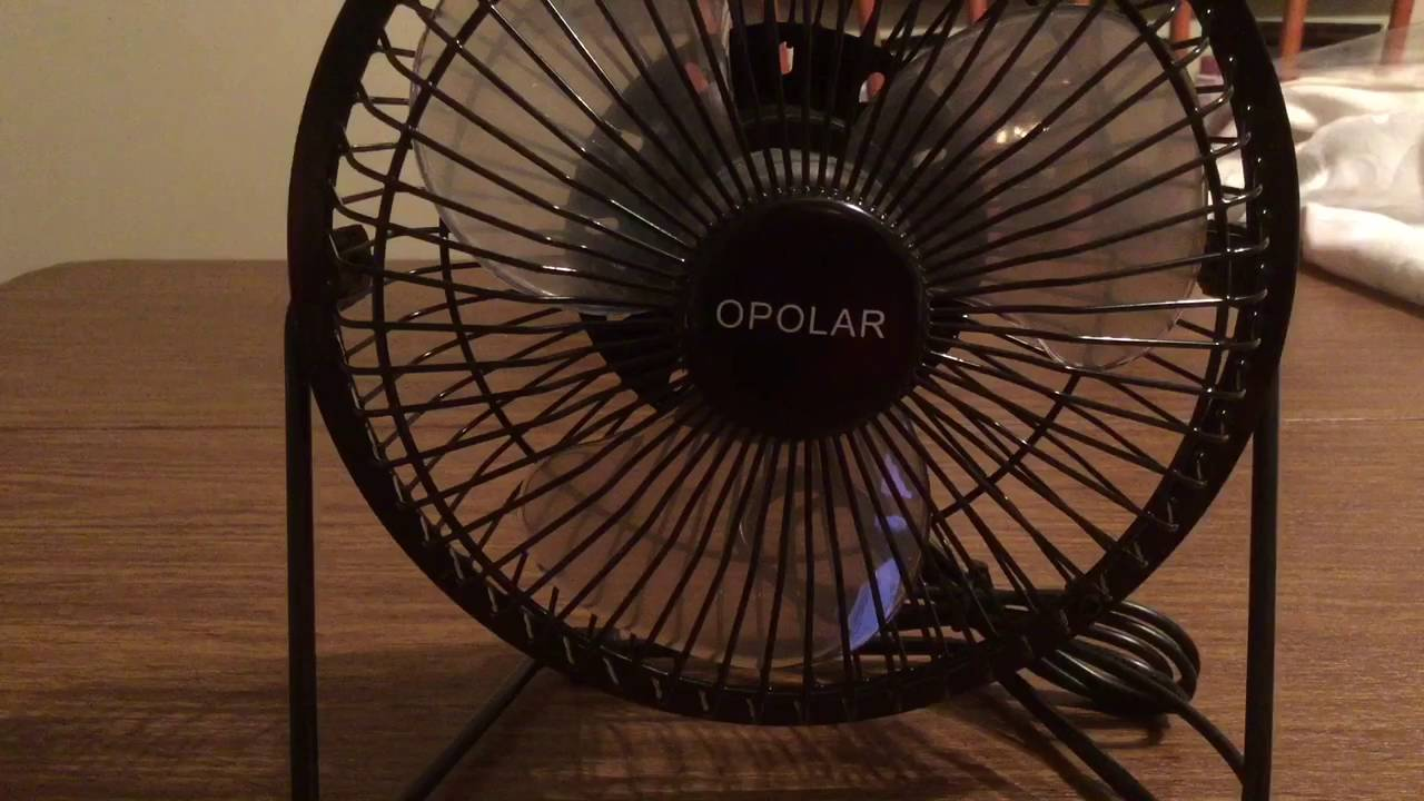 Opolar USB Mini Desk Fan Review with Reinforced Steel Frame and ...