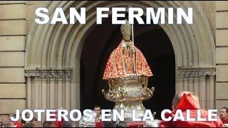 JOTEROS EN LA CALLE CANTANDO A ANTONIO MIURA (I)