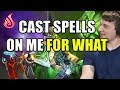 Dota 2: Arteezy - Cast Spells On Me FOR WHAT   Support playing Core FluffNStuff EleGiggle