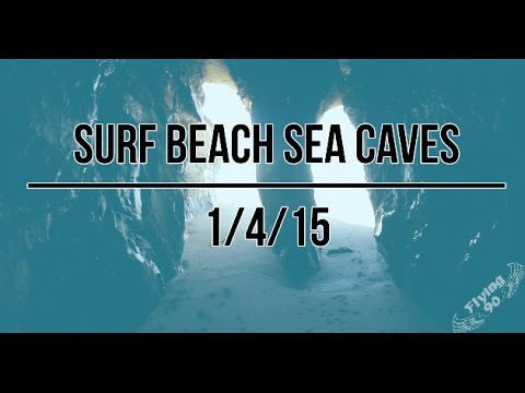Surf Beach Sea Caves, Lompoc, California