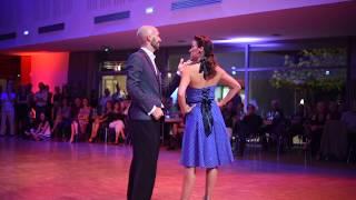 Maria Belen et Santiago dansent sur Milonga Para es Missoes