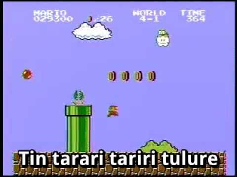 Mario Bros theme karaoke