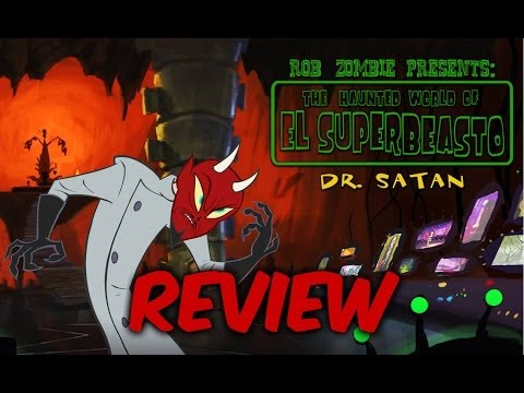 The Haunted World Of El Superbeasto - Horror Review