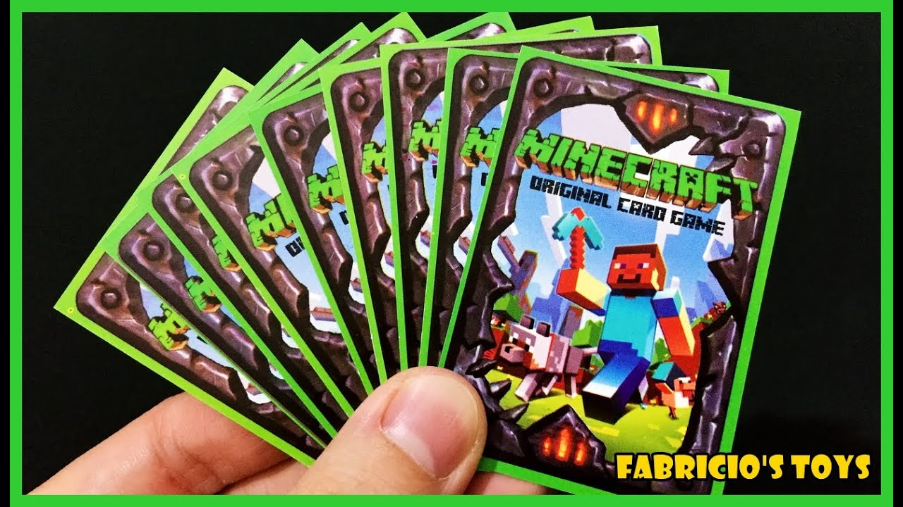 Card For Minecraft Pc Game : Cards abrindo minecraft cartas novos