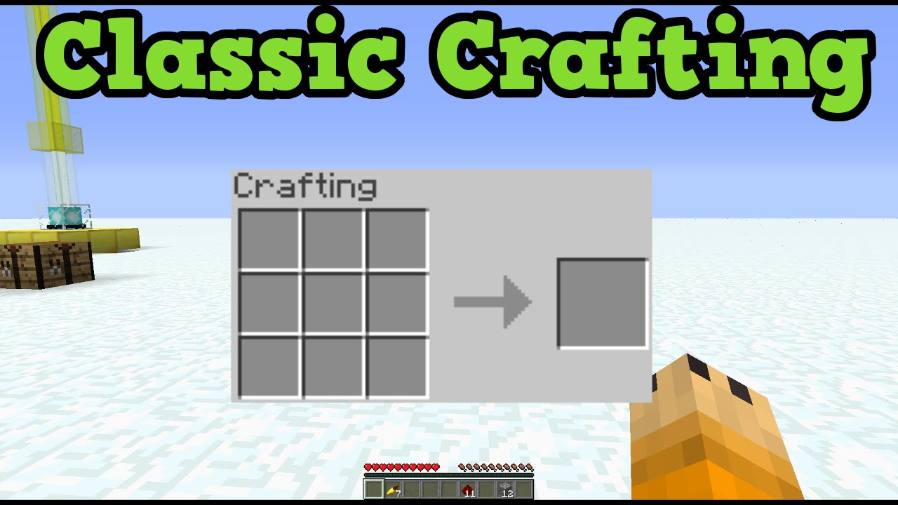 minecraft xbox 360 ps3 tu25 classic crafting vs