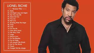 Lionel Richie greatest hits ( full album ) the best songs of Lionel Richie