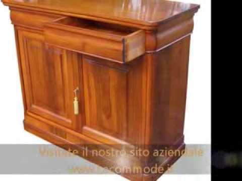 Produzione mobili artigianali classici a milano roma for Mobili produzione