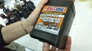 Amsoil Signature Series 0W-40 NEW (новая версия) приемка в лаборатории УРЦТЭиД