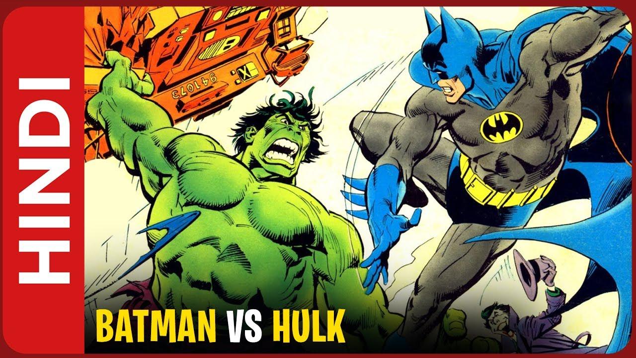 Batman vs Hulk Comic Storyline Explained IN HINDI | Marvel vs DC Crossover 02