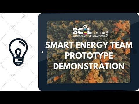 Smart Energy team - prorotype demonstration
