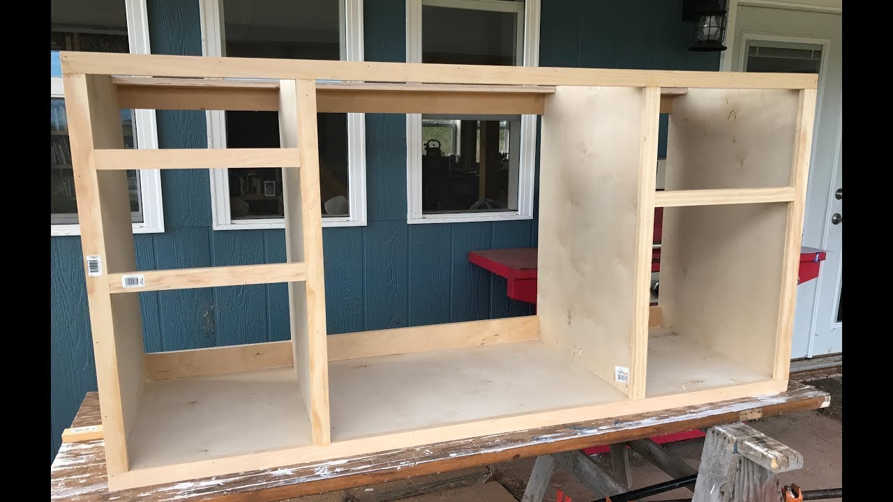 Making Kitchen Cabinets Part 2 Face Frame