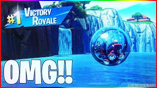 CRASS GODMODE - SPAWN ISLAND GLITCH!! 💎🔥 Fortnite GLiTCH [anglais/allemand]
