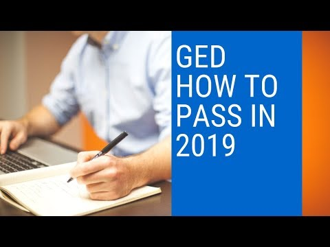 GED How To Pass In 2019