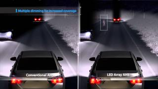 LED Array Adaptive High Beam System