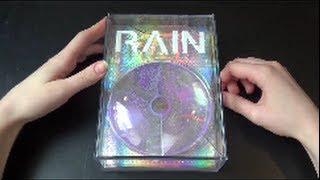 Unboxing Rain 비 6th Studio Album Rain Effect (Special Edition)