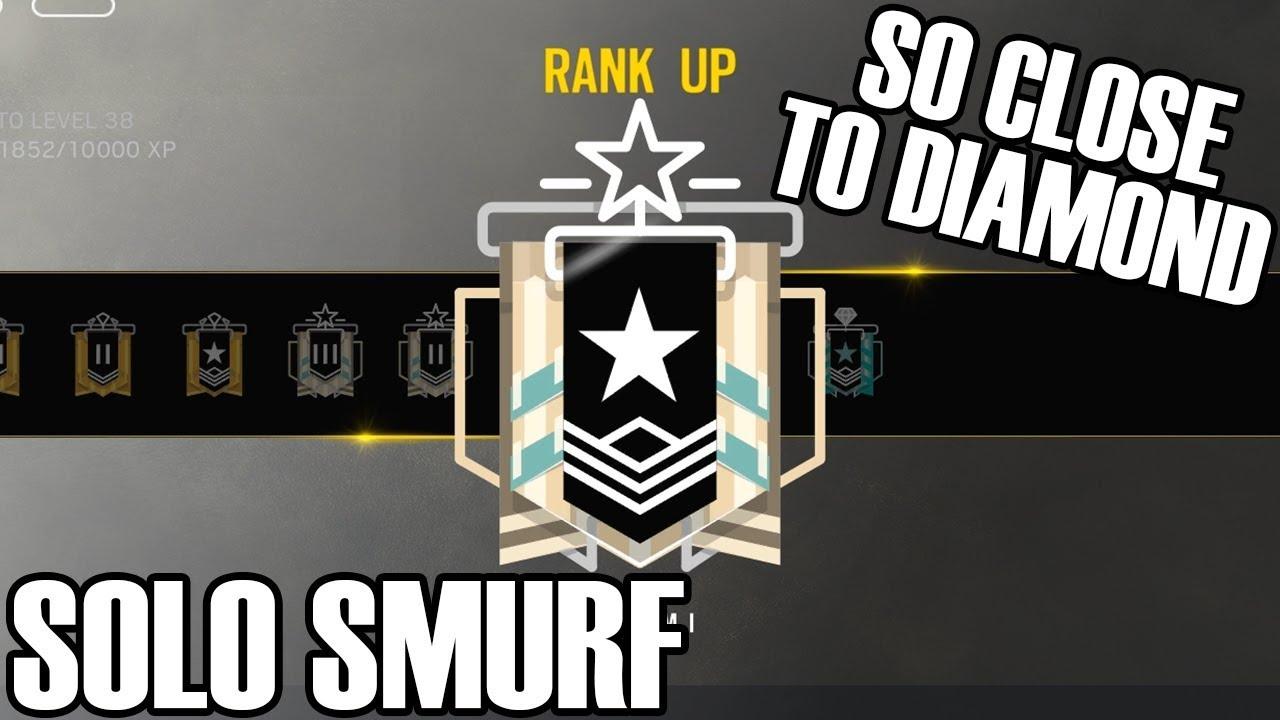 Solo Smurf: One Rank Closer - Rainbow Six Siege