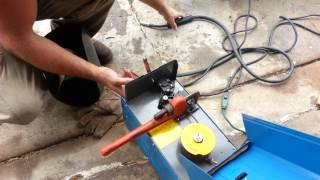are jay welding  gate harbor freight mig welder repair fix,also ghetto rig for your welding mask