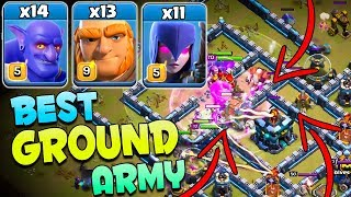 TH13 New Meta Attack Strategy 2020 | 14 Bowler + 13 Giant + 11 Witch BEST TH13 Attack Strategy