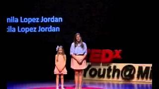 The power of language | Camila & Cecilia Lopez Jordan | TEDxYouth@Miami