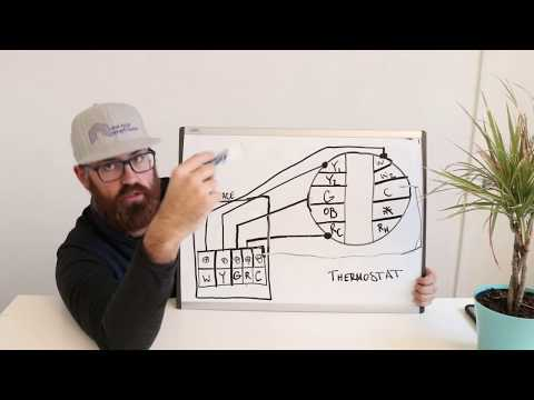 Nest Wiring Diagram How To Install C Wire or Common Wire - YouTube on