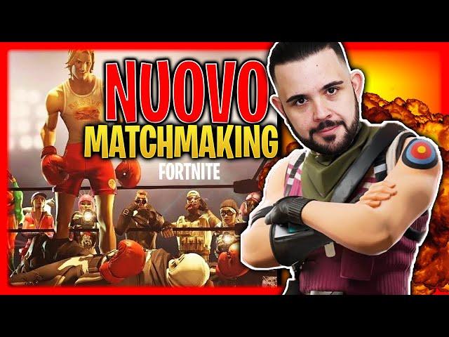 Lo scopo del sistema di matchmaking è di creare partite eque con le giuste.