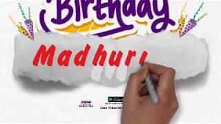Happy Birthday Madhurima