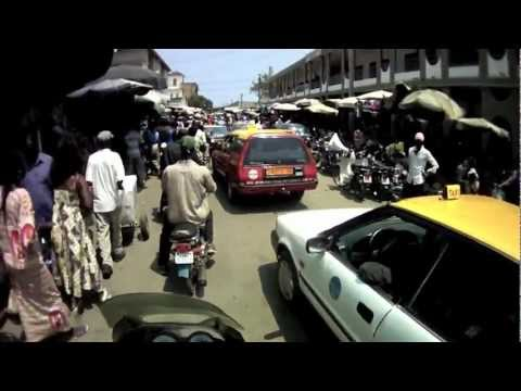 Läbi Togo pealinna Lomé