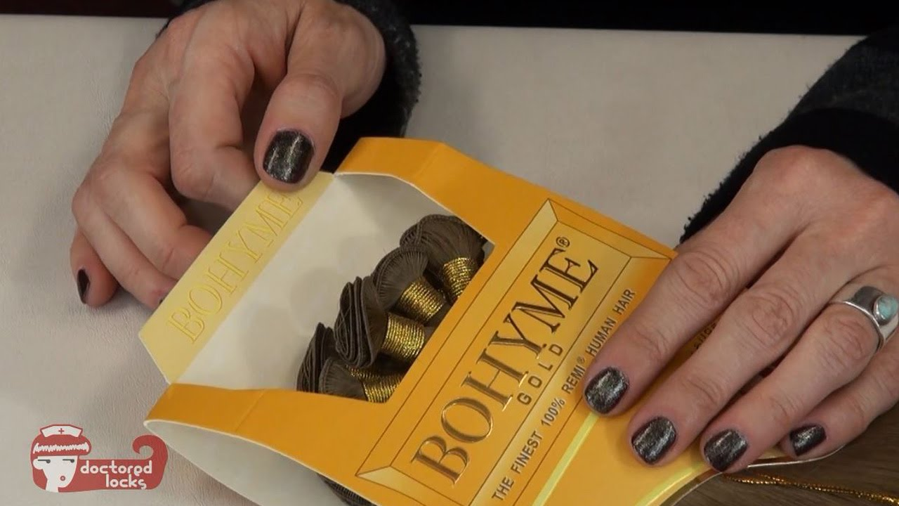 Unboxing Hand Tied Extensions Bohyme Gold Weaving Hair
