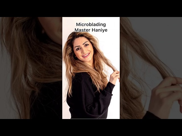 Microblading BrowBar Haarlem (Master Haniye)