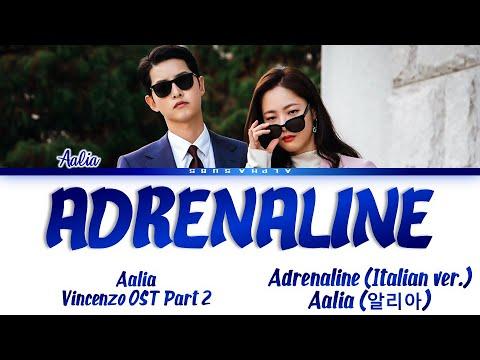 Download Aalia (알리아) - 'Adrenaline' Vincenzo OST Part 2 [빈센조 OST Part 2] Lyrics/가사 [Ita]