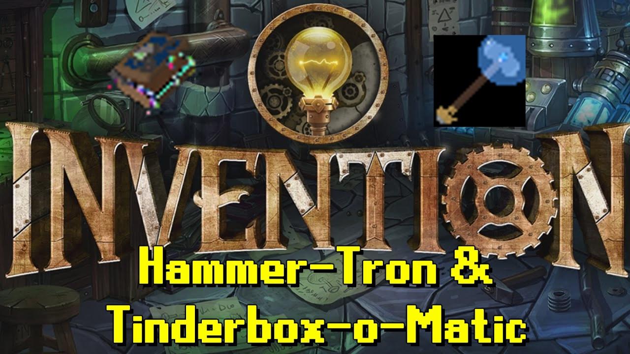 Rs Updates Invention Hammer Tinderbox 15 Year Veteran Cape