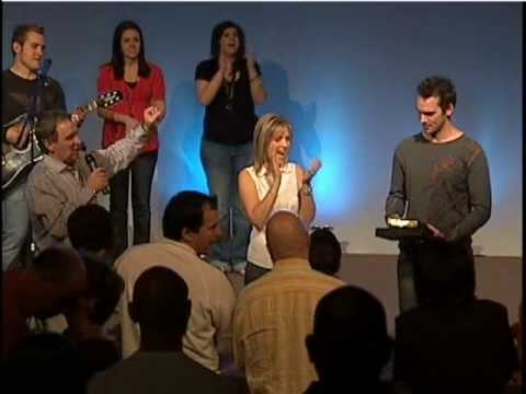 Derek Redfearn, Award, 9/25/09, Champion Life Chur...