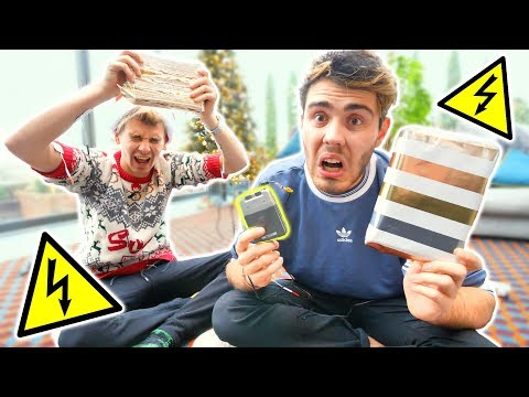 ELECTRIC SHOCK CHRISTMAS WRAPPING