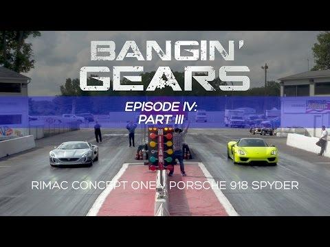 Rimac Concept One Vs Porsche 918 Spyder Drag
