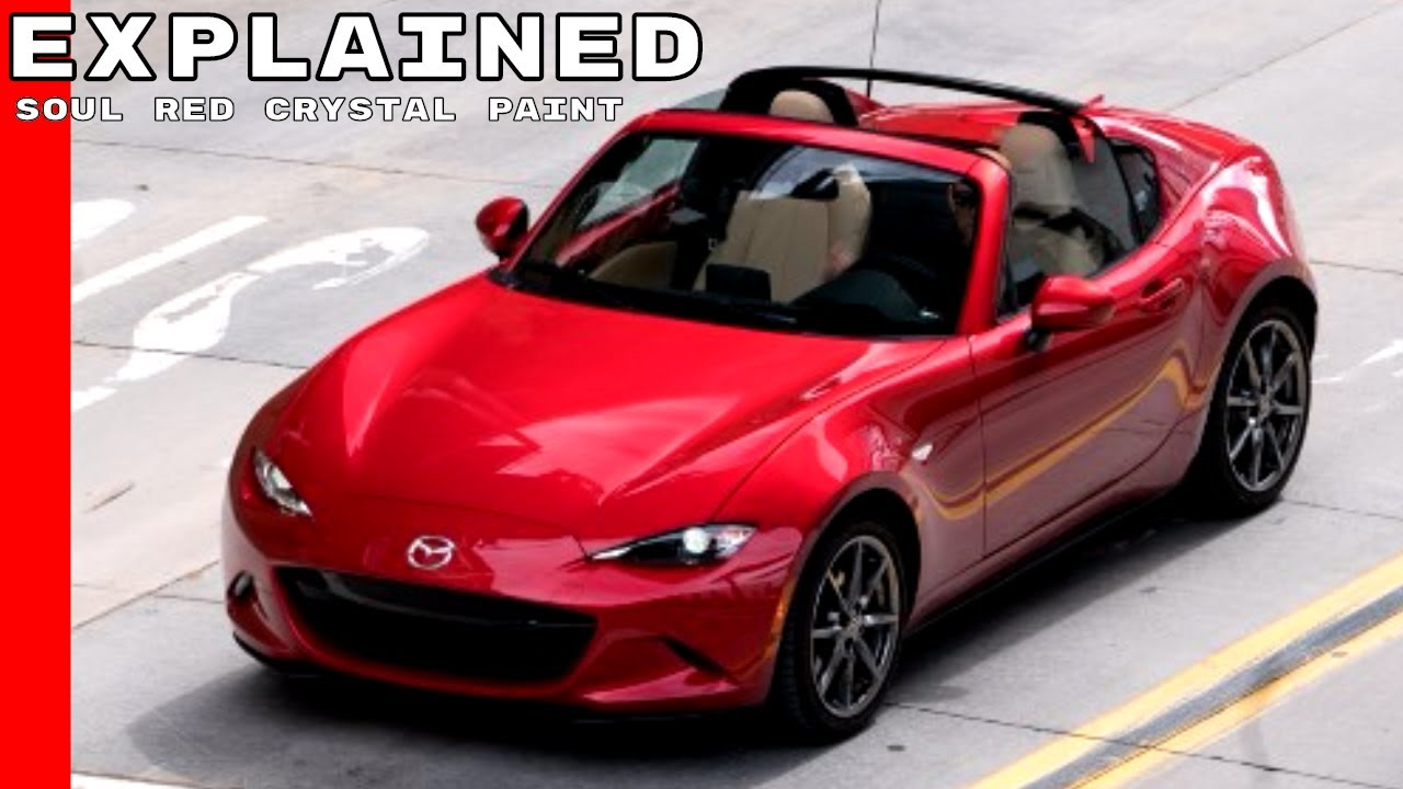 Mazda Soul Red Crystal Paint Explained