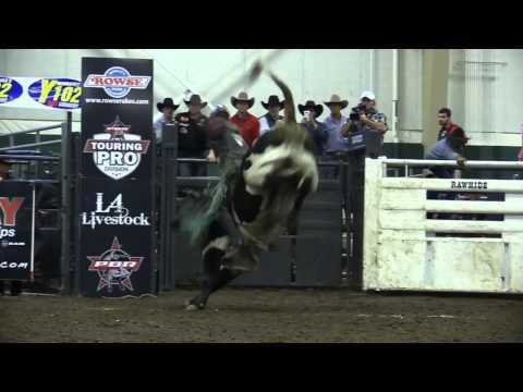 Rafter HB Cattle's Gigolo Beau  PBR Short Round Kearney NE 2014