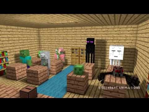 Monster School Dancing - Minecraft Animation france