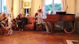 Piano-bar au Castel Camping Le Brévedent (Normandie)
