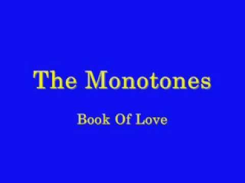 The Monotones - Book Of Love - 1958