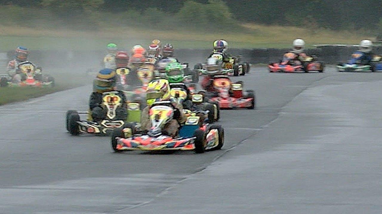 F1 for Kids    Super 1 British Karting Champs  2018, Rd 7, Pt 1 Honda Cadet