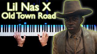 Lil Nas X - Old Town Road ft. Billy Ray Cyrus | Piano cover