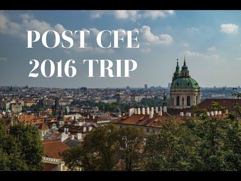 CUBE series - Post CFE 2016: Prague and Vienna