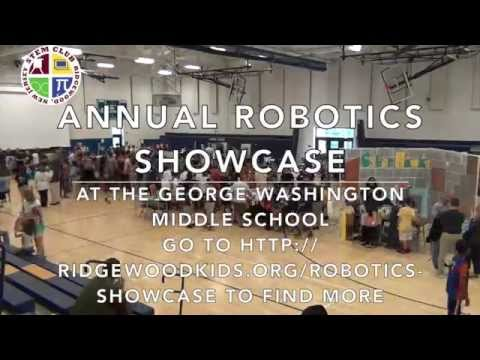 Here's a STEM Club video for its first Robotics Showcase, in 2014.