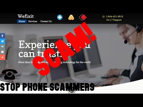 """We Fix it Pro"" Tech Support Scam 