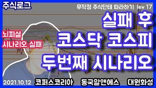 [주식로그] 코스닥 코스피 두번째시나리오 (#동국알앤에…
