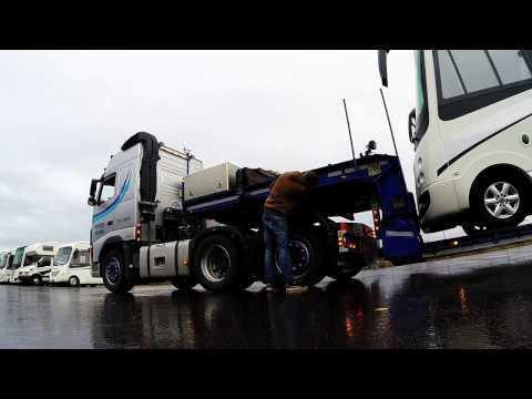 Gopro Trucking trough Europe Spain/France/Italy/Germany - Dekker Transport Rijssen Holland