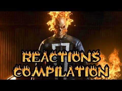 Ghost Rider - Reactions Compilation (Agents Of SHIELD)